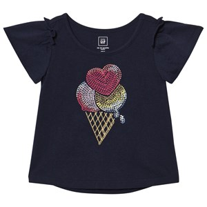 Image of GAP Ice Cream Top Navyblå 18-24 mdr (1074275)