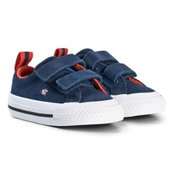 Converse One Star 2V OX Infants Trainers Navy