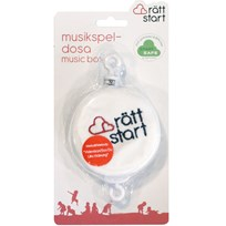 rattstart Music Box White