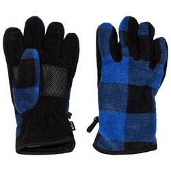GAP Blue Buffalo Plaid Gloves