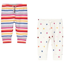 Gap 2-Pack Crazy Stripe and Spotty Byxor Multifärg