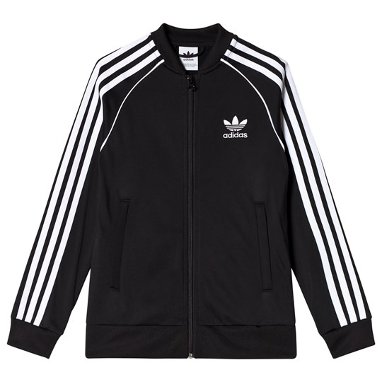 Branded Tröja Dragkedja Svart adidas Originals Babyshop