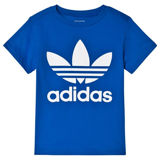 adidas Originals Blue Logo T-Shirt Blue/White