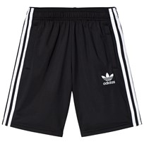 adidas Originals Black Boys Branded Shorts Sort