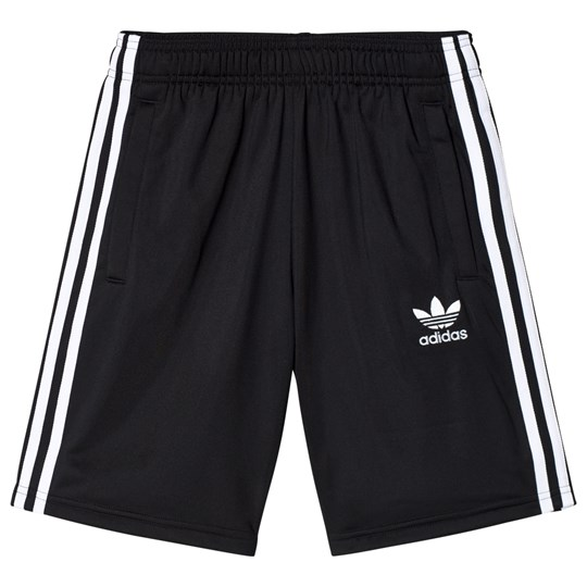 adidas Originals Black Boys Branded Shorts Black