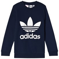 adidas Originals Navy Boys Logo Crew Sweater COLLEGIATE NAVY/WHITE