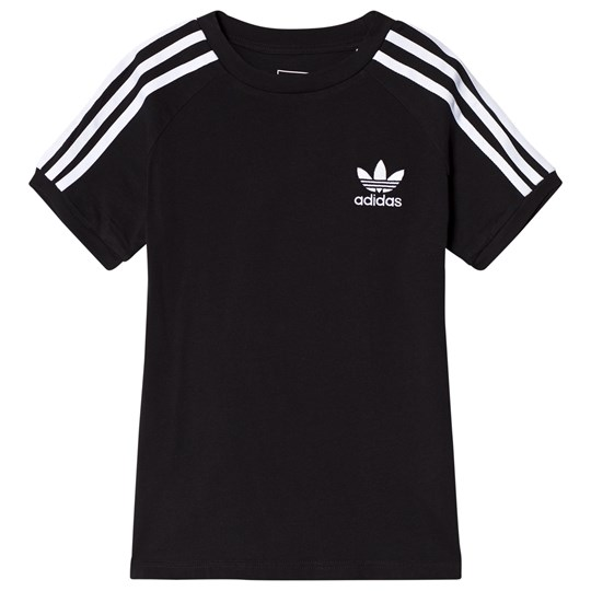 adidas Originals Black Branded T-Shirt Black