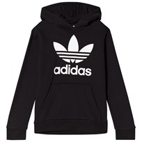 adidas Originals Black Boys Logo Hoodie Black