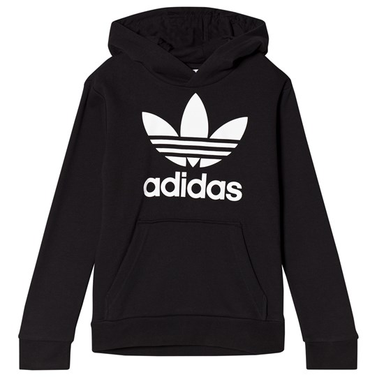 adidas Originals Black Logo Hoodie Black
