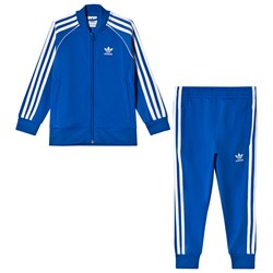 adidas Originals Blue Branded Kids Tracksuit