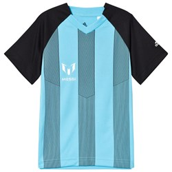 adidas Performance Gray and Blue Messi Top