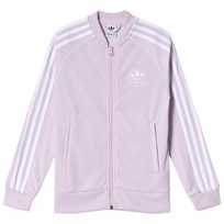adidas Originals Pink Branded Full Zip Top AERO PINK S18