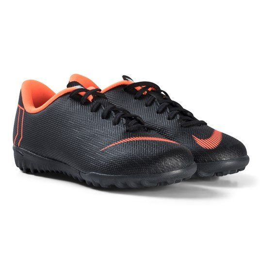 NIKE Black and Orange Junior Vaporx Academy Boots 081