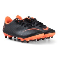 NIKE Black and Orange JR Academy PS MG Boots 081