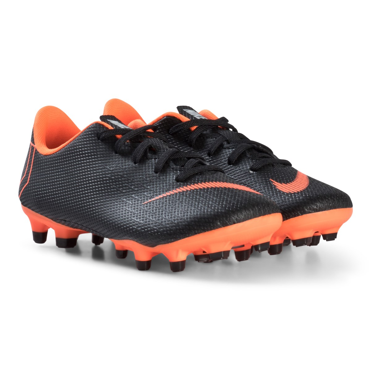 pretty nice 132b9 6d12f nike black and orange jr academy ps mg boots
