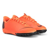 NIKE Orange and Black JR Vaporx 12 Academy GS TF Boots 810