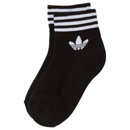 adidas Originals Black Logo Ankle Socks Black