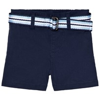 Ralph Lauren Classic Chino Shorts with Belt Navy 001