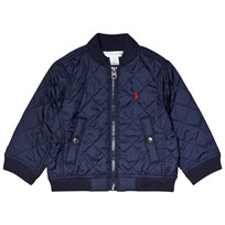 Ralph Lauren Baseball Jacket Navy 001