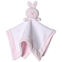 Emile et Rose Bunny Comforter Pink and White Pink