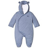 Cyrillus Blue Chambray Snowsuit 6409