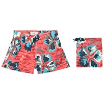Pepe Jeans Multi Edward Skateboard Graphic Print Swim Shorts 08A