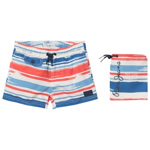 Image of Pepe Jeans Blue and Red Elton Swim Shorts 14 years (2983985621)