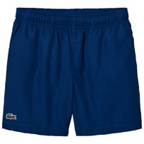Lacoste Blue Diamond Weave Classic Tennis Shorts Marino