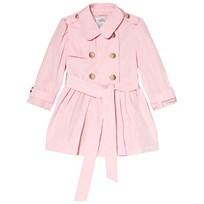 Ralph Lauren Hooded Trench Coat Pink 001