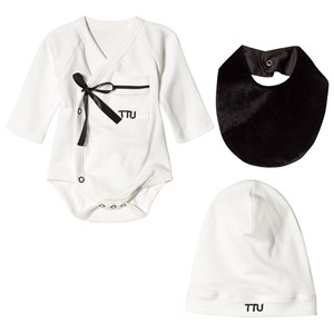 Image of The Tiny Universe The Ultimate Pyjama Kit Black and White 3-6 mdr (2985917829)