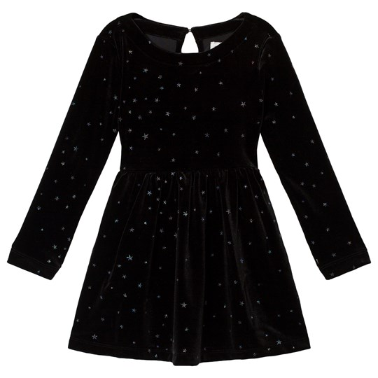 GAP True Black Velvet Dress TRUE BLACK V2