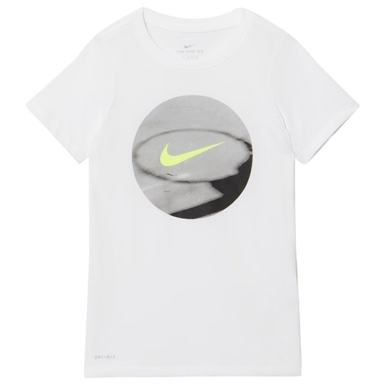 NIKE White Photoball Tee 100