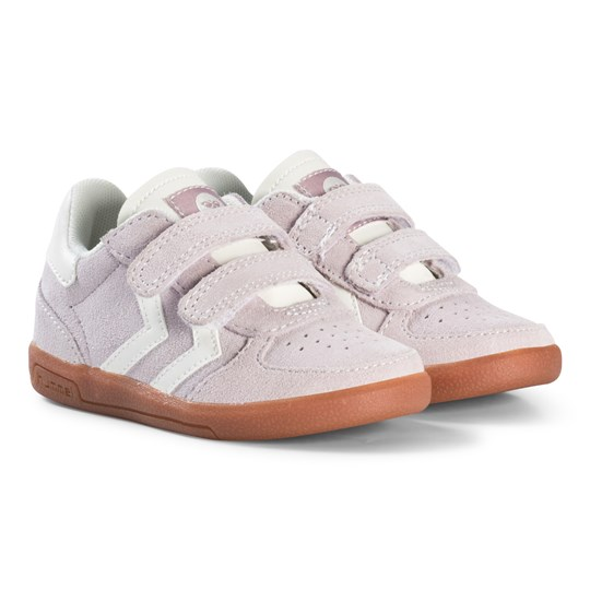 Hummel Victory Infant Sneakers Lilac Gray Lilac