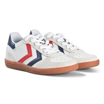 Hummel Victory Leather Jr White White