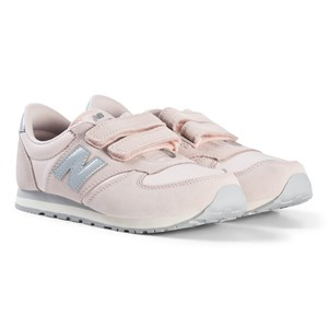 Image of New Balance Pink and Gray Junior Sneakers US 13,5 (EUR 32) (3001925267)