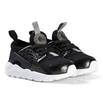 NIKE Black Nike Huarache Run Ultra Infants Shoe 021