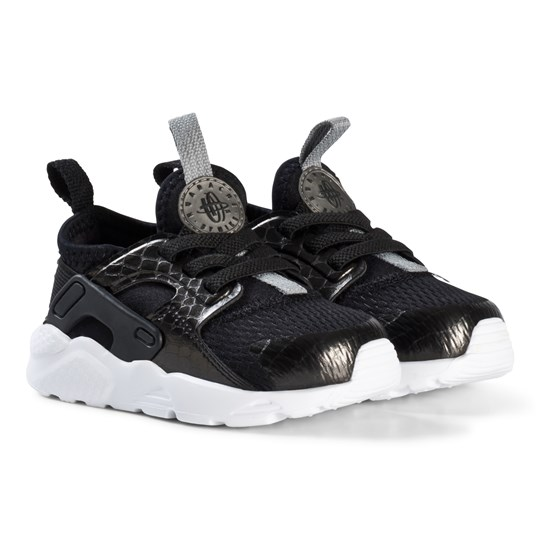 NIKE Black Huarache Ultra Infants Running Sneakers 021