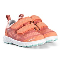 Viking Coral and Mint Veme Vel GTX Sneakers Coral/Mint