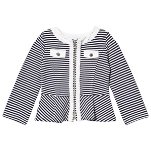 Image of Mayoral Navy Stripe Jersey Jacket 7 years (2987145705)