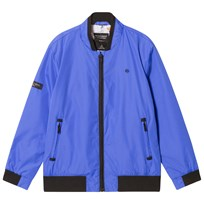 Mayoral Blue Bomber Jacket with Printed Lining 59