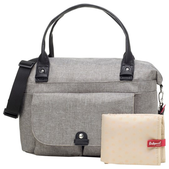 Babymel Jade Changing Bag Grey Black