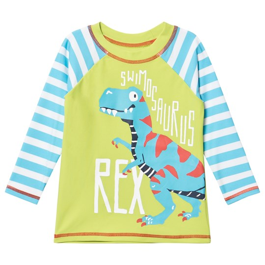 Hatley Dinosaur Rash Top Blue and Green Blue