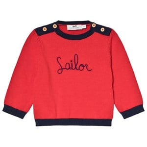 Cyrillus Red Sailor Sweater 9 months