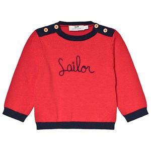 Cyrillus Red Sailor Sweater 6 months