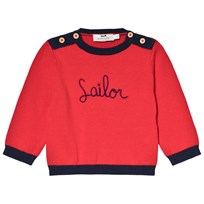 Cyrillus Red Sailor Sweater 6699