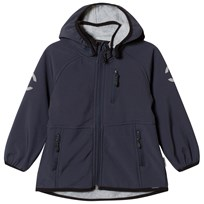 Mikk-Line Softshell Boys jacket Blue Nights Blue Nights