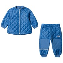 Mikk-Line Thermo set no fleece Parisian Blue Parisian Blue