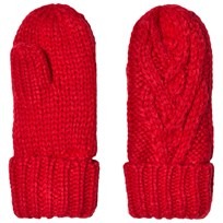 GAP Cable Knit Mitten Modern Red FR MODERN RED