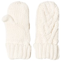 GAP Cable Knit Mittens Ivory Frost IVORY FROST