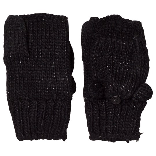 GAP Fold-Over Cat Ear Mittens Black TRUE BLACK V2 2